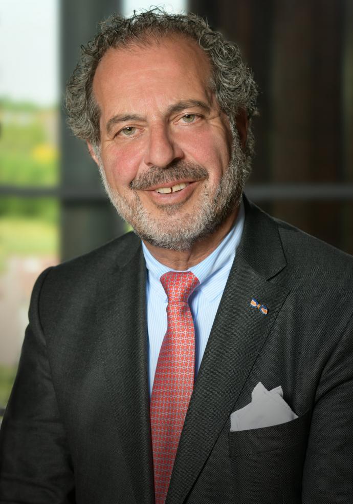 Foto van burgemeester Jaap Nawijn