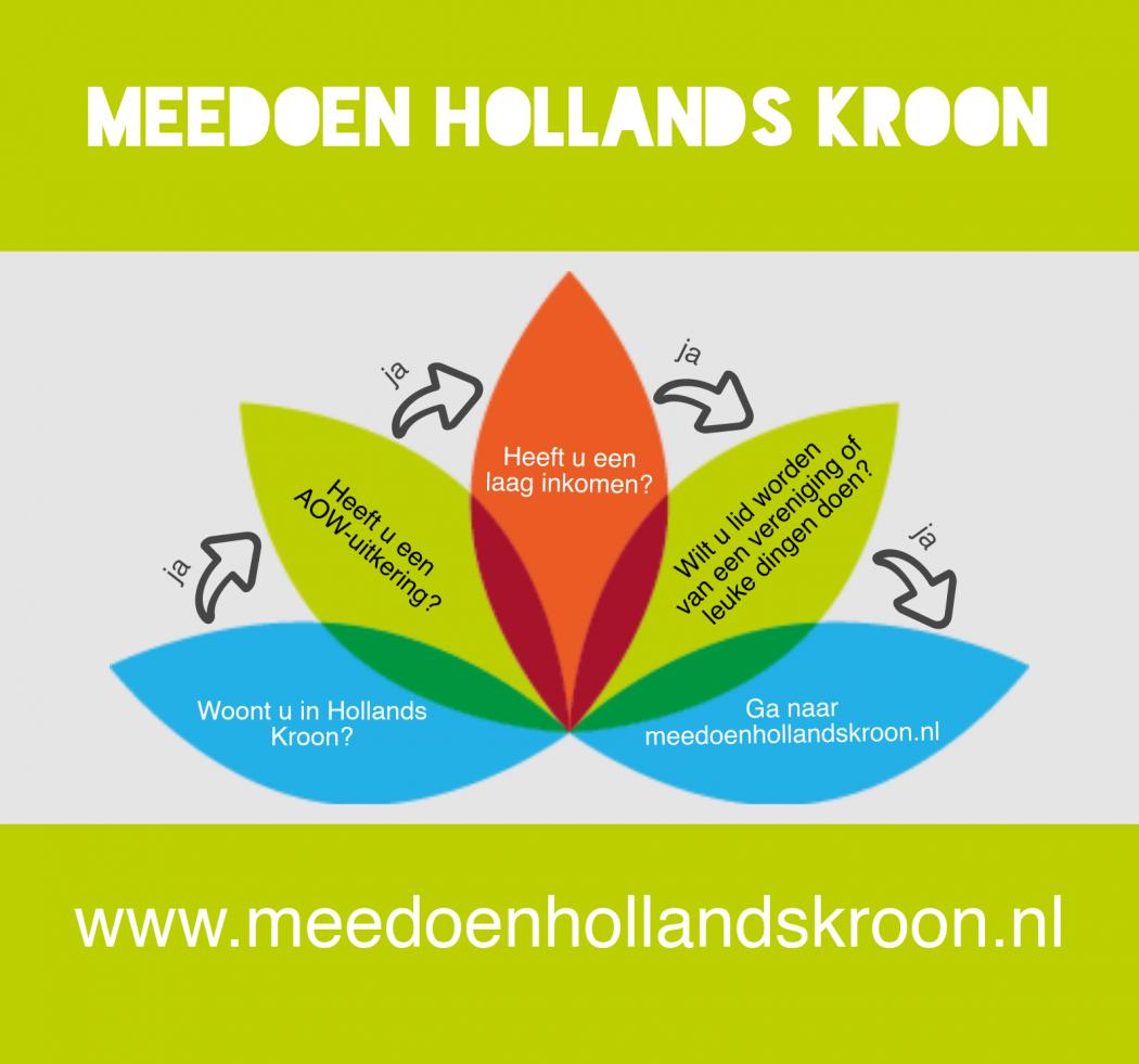 Meedoen Hollands Kroon nu ook voor inwoners met een aow